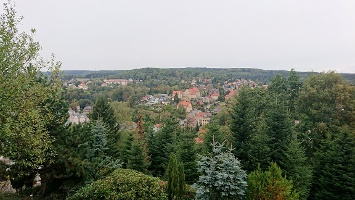 Foto Aussicht über Sebnitz