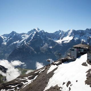 Schilthorn mit Panorama Eiger Mönch Jungfrau