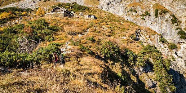 Die letzten meter zur Toni Lenz Hütte
