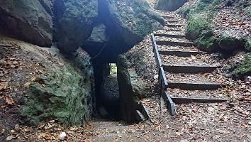 Foto Tunnel auf dem Tunnelweg