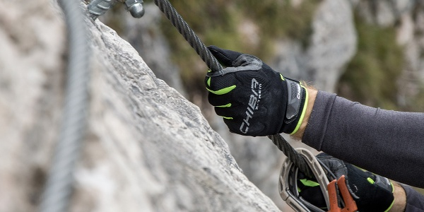 Wichtig im Kletetrsteig: Handschuhe
