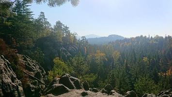 Foto Aussicht von Felsen bei Enger Stiege