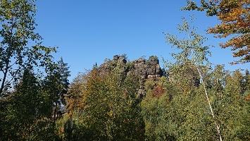 Foto Rudolfstein - von unten