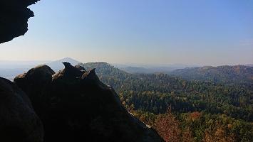 Foto Aussicht Rudolfstein - Aufstieg