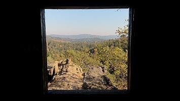 Foto Rudolfstein - Blick auf aus Fenster