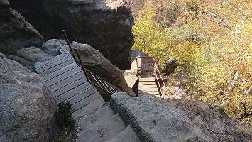 Foto Rudolfstein - Abstieg