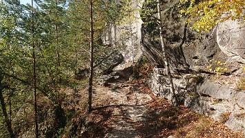 Foto Weg zur Felsenburg Schauenstein