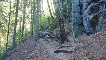Foto Weg Richtung Kleines Prebischtor