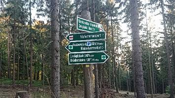 Foto Wegweiser - Lindigtblick
