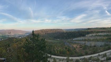 Steinbruch Musital Panorama