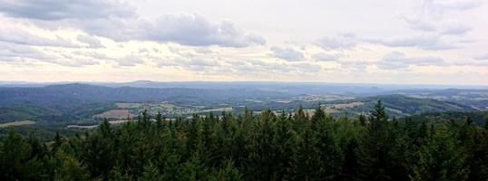 Foto Tanzplan - Aussicht über Elbsandsteingebirge