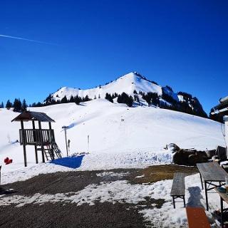 Aufstieg von der Grüntenhütte Richtung Gipfel
