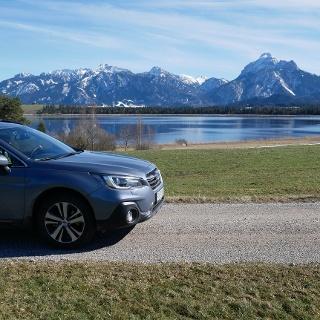 Entlang der schönsten Seen des Allgäus mit dem Subaru Outback