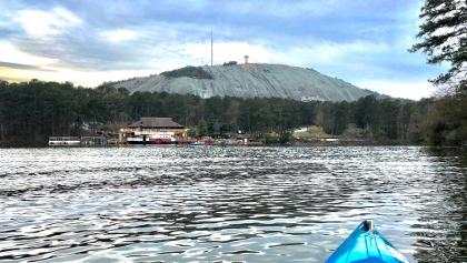 Kayaking at Stone Mountain Park