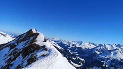 Güntlesspitze Gipfelgrat