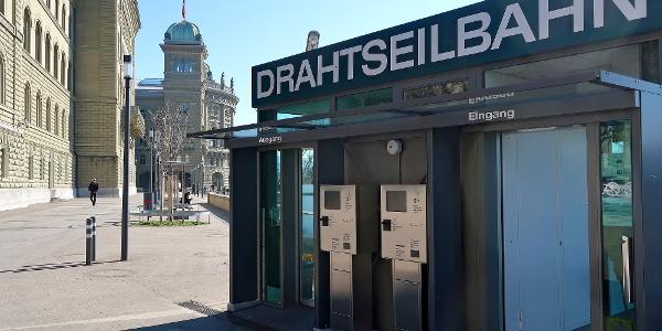 Marzilibahn Bergstation.