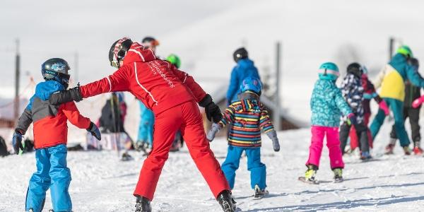 Skischule im Valtgeva