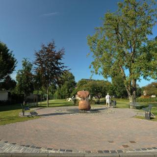 Dorfplatz in Rees-Millingen