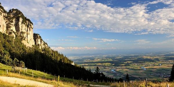 Hasenmatt und Mittelland.