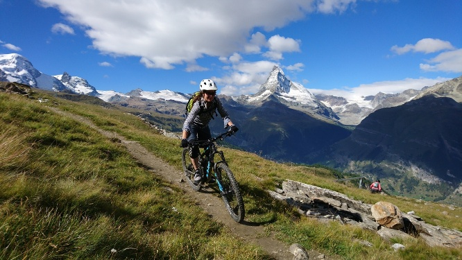 Bike tour Blauherd - Sunnegga (Nr. 6)