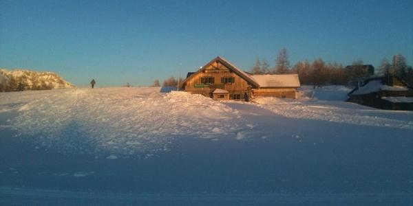 Lenzbauerhütte, im Sommer