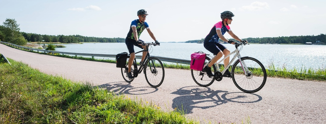 Cycling the Archipelago Trail