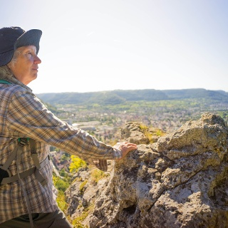 Aussicht vom Bismarckfelsen