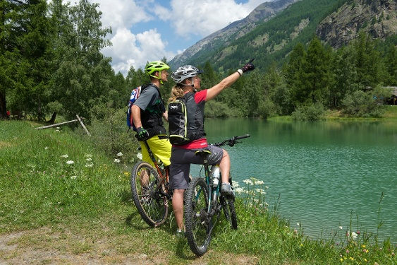 Bike-Tour Lake-Tour Täsch (Nr. 32)