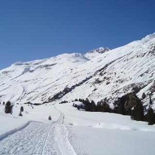 Winterwandern im Bergsteigerdorf Vent