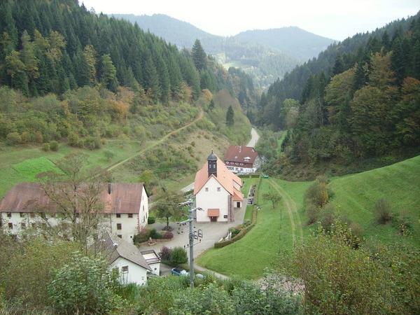 Der kleine Hansjakobweg, Von Schapbach nach Schenkenzell (1. Etappe)