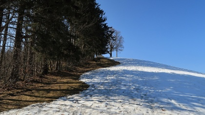 """und nun noch der """"Gipfelanstieg"""" auf den Kaienspitz"""