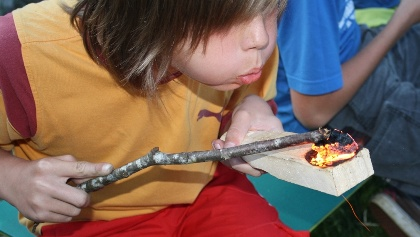 WildnisCamp für Kids © Nationalpark Kalkalpen Scheutz