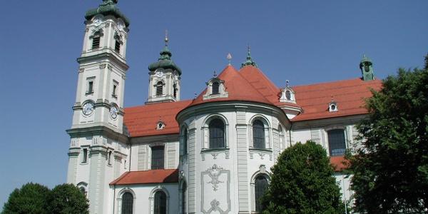 Basilika Ottobeuren - Seitenansicht