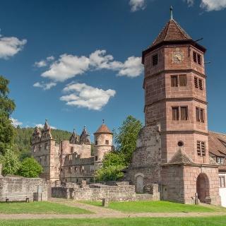 Ein Teil des Kloster Hirsau in Calw