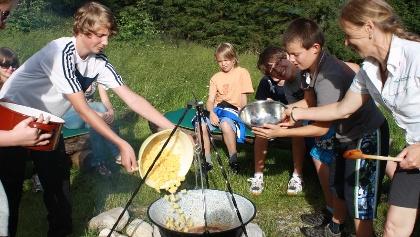WildnisCamp für Jugendliche © Nationalpark Kalkalpen Scheutz