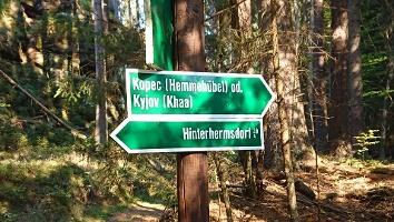 Foto Wegweiser - Kyjov (Khaa)