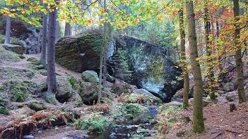 Foto Flussbett im Khaatal - Kirnitzsch