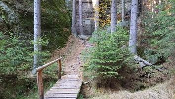 Foto Weg zur Schatzkammer (Klenotnice)