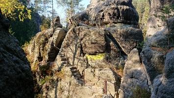 Foto der Felsenpfad von Khaa