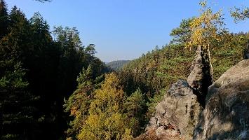 Foto Felsenpfad von Khaa - Aussicht