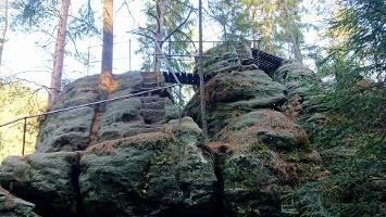 Foto Felsenpfad von Khaa - Brüdersteine