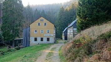 Foto Niedermühle im oberen Kirnitzschtal
