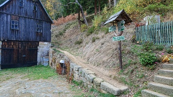 Foto Weg Richtung Taubenstein - Niedermühle