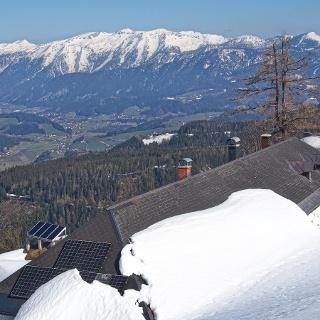 Blick über die Hofalm ins Sengsengebirge