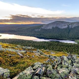 Fjell-Landschaft in Lappland