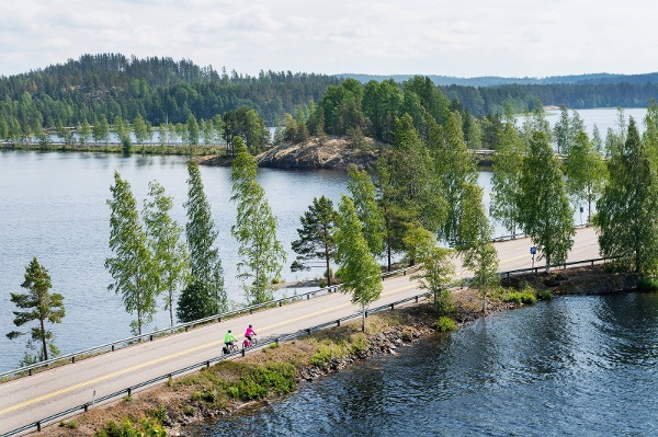 Cycling in Finnish Lakeland