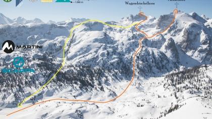 Wagendrischlhorn und Häuslhorn Topo Skitour Übersichtsbild