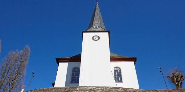 ev. ref. Kirche Burbach