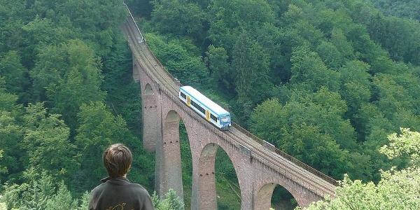 Hunsrückbahnwanderweg Liesenfelds Hütte