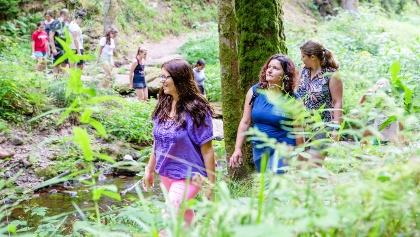 Meditationswanderung im Tal der Wilden Rench, mit Anna Karina Cassinelli,